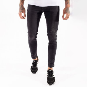 Men's Sustainable Stretch Jeans Skinny Fit - Washed Black