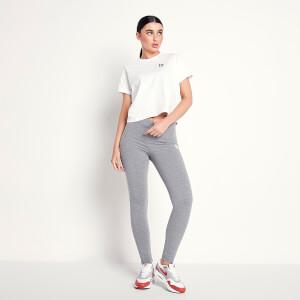 Women's Logo Leggings - Mid Grey Marl