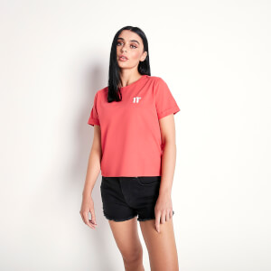 Women's Core Cropped T-Shirt Imperial Red