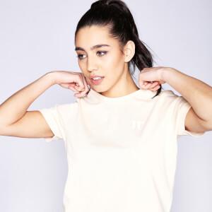 Women's Core Cropped T-Shirt - Sunkiss Pink