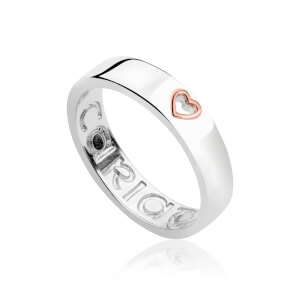 Take My Heart Wide Band Ring