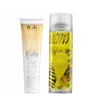 IGK Silky Air Dry Set