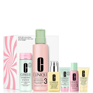Clinique Great Skin Everywhere Set for Combination-Oily Skin (Worth $176.00)