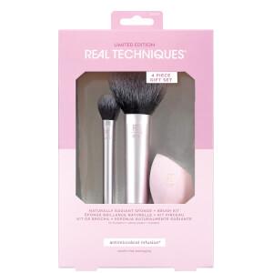 Real Techniques NaturallyRadiant Sponge and Brush Kit