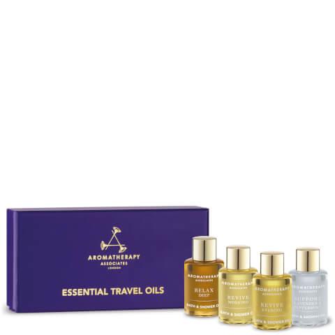 Aromatherapy Associates Essential Bath and Shower Oils 3x .31oz