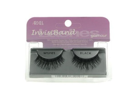 Ardell Invisiband Lashes - Wispies Black