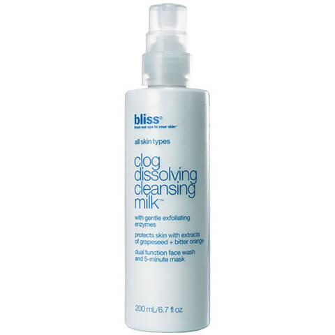 bliss Clog Dissolving Cleansing Milk (200ml)