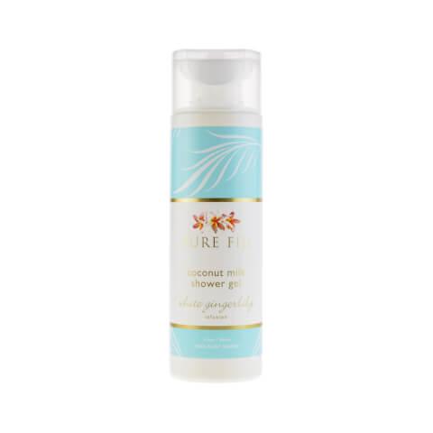 Pure Fiji Coconut Milk Shower Gel - White Gingerlilly 8.5oz