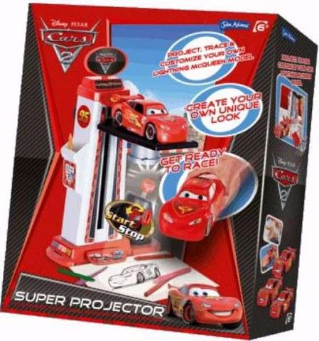 Disney Cars 2 3D Projector