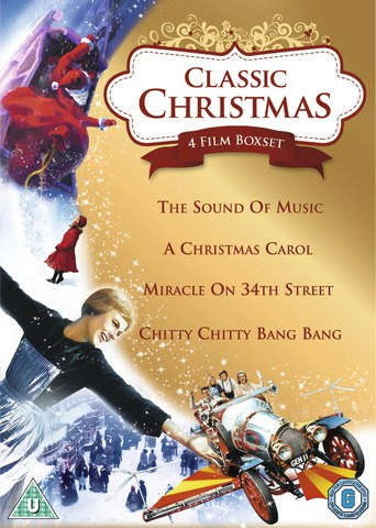Classic Christmas Box Set: A Christmas Carol / Miracle on 34th Street / Sound of Music / Chitty Chitty Bang Bang