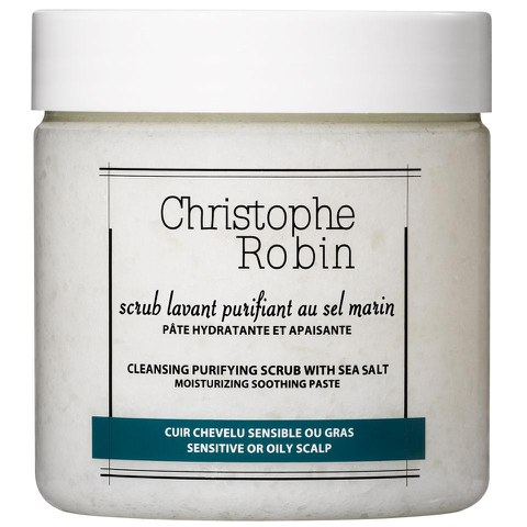 Christophe Robin Cleansing Purifying Scrub with Sea-Salt (8oz)