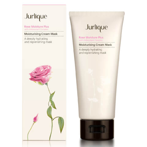 Jurlique Rose Moisture Plus Moisturizing Cream Mask 3ozl