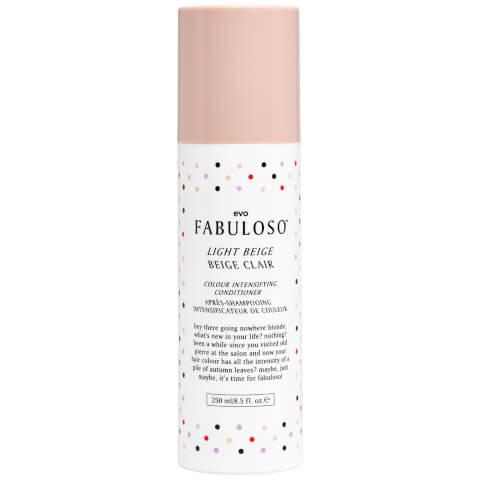 Evo Fabuloso Colour Intensifying Conditioner Light Beige (250ml)