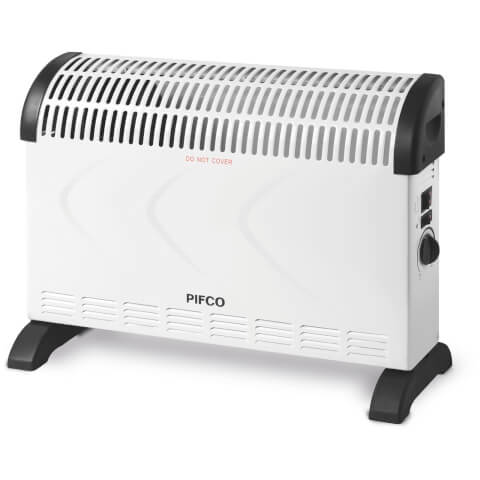 Pifco PE108 Convection Heater - White - 2000W
