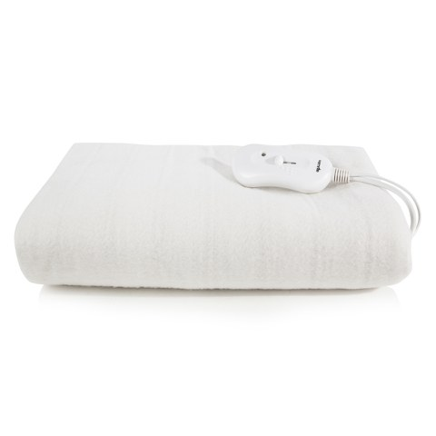 Warmlite WN48003 Heated Electric Blanket - White - Double
