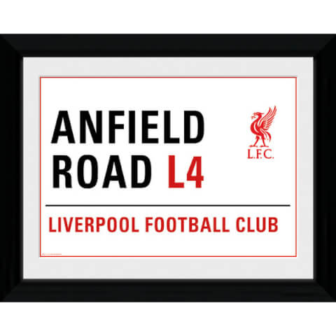 Liverpool Anfield Street Sign - 16