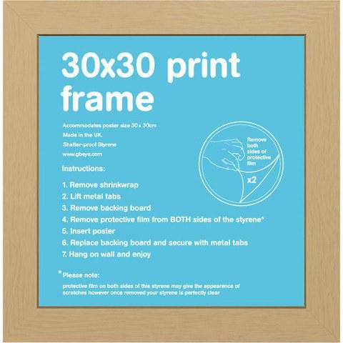 Oak Frame - 30 x 30cm
