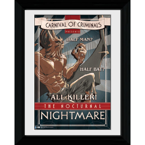 Batman Circus Nocturnal Nightmare - 30 x 40cm Collector Prints