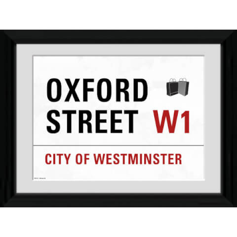 London Oxford Street - 30 x 40cm Collector Prints