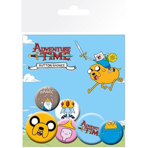 Lot de Badges Adventure Time - Jake