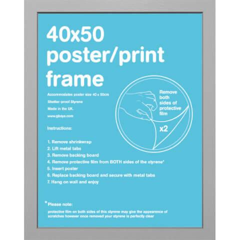 Silver Frame Mini - 45 x 50cm