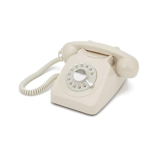GPO 746 Retro Drehscheiben Telefon - Creme