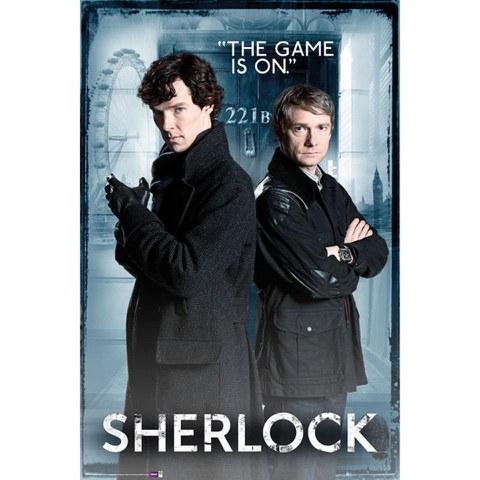 Sherlock Door - Maxi Poster - 61 x 91.5cm