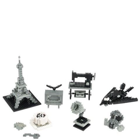 Nanoblock Monochrom Set