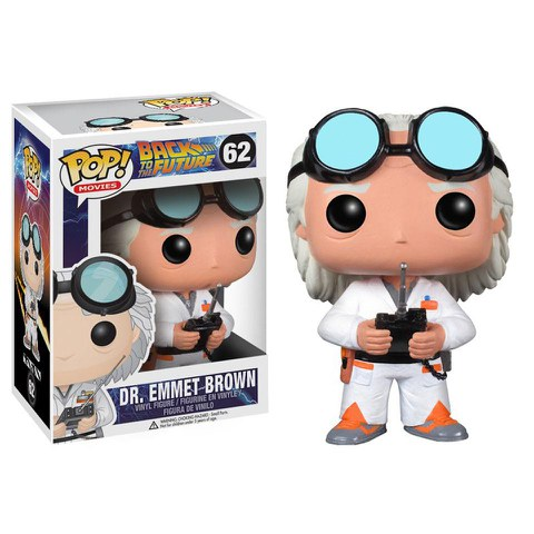Figurine Pop! Doc Brown Retour vers le futur