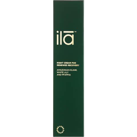 Ila-Spa Night Cream for Renewed Recovery