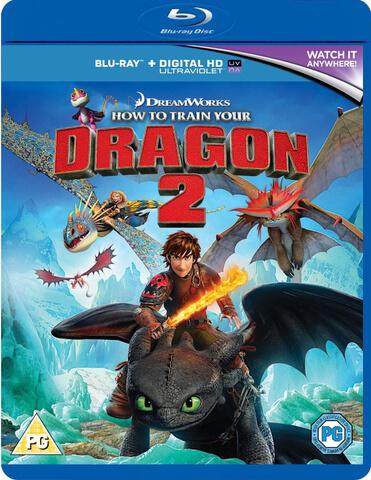 Cómo Entrenar a tu Dragón 2 (Copia UltraViolet incl.)