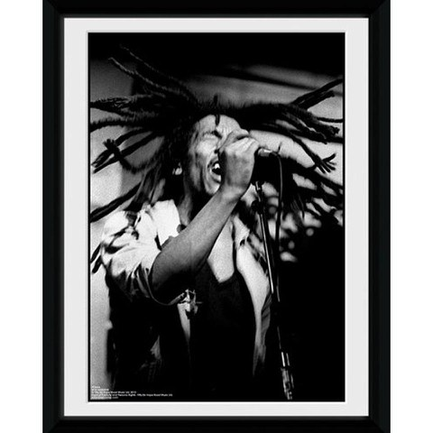 Bob Marley Hair - 8x6 Framed Photographic