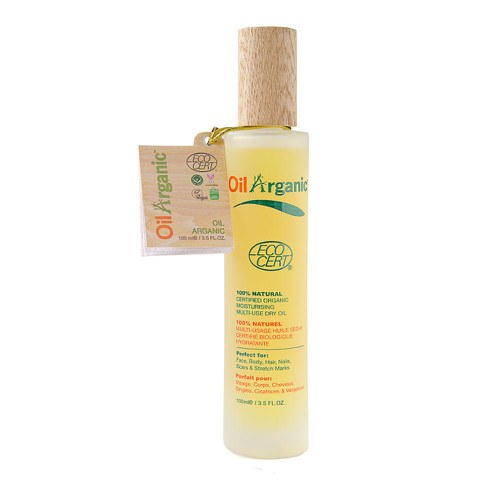 TanOrganic OilArganic Multi-Use Dry Oil - Clear (100ml)