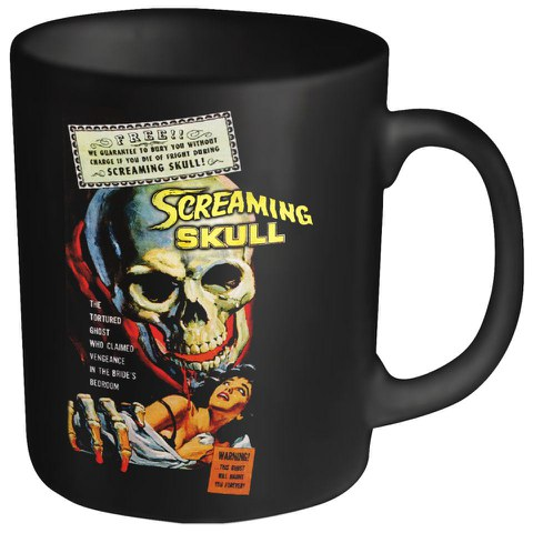 Screaming Skull Mug