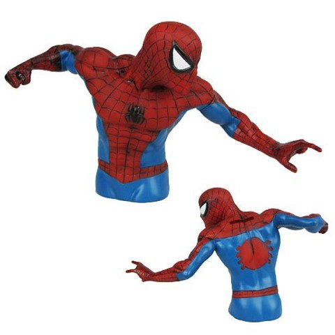 Marvel Bust Coin Bank - Spider-Man (Version 2)
