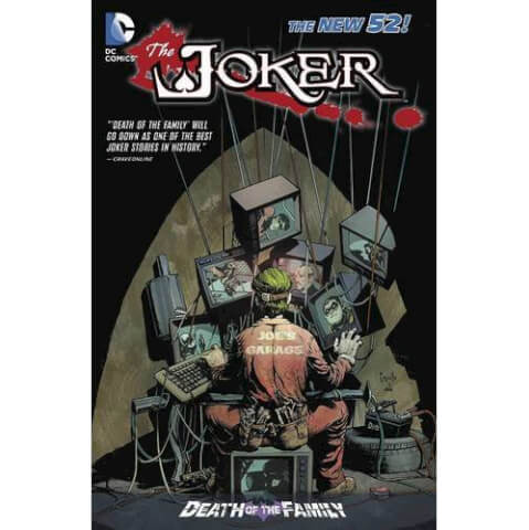 Joker: Death of the Family (The New 52) Paperback Graphic Novel