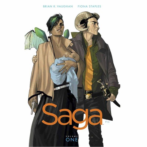 Saga - Volume 1 Graphic Novel