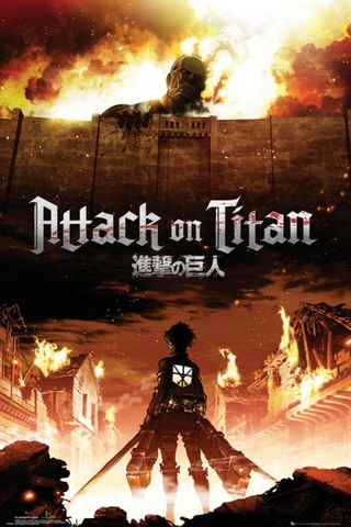 Attack on Titan Key Art - Maxi Poster - 61 x 91.5cm