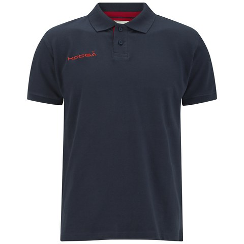 Kooga Men's Pique Polo Shirt - Navy