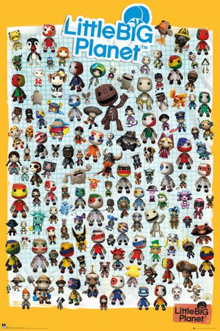 Little Big Planet 3 Characters - Maxi Poster - 61 x 91.5cm