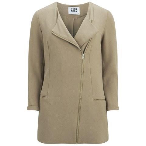 Vero Moda Women's Karo Pastel Jacket - Silver Mink