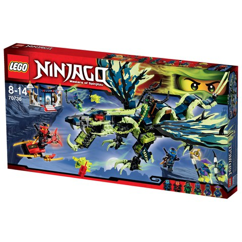 LEGO Ninjago: Attack of the Morro Dragon (70736)