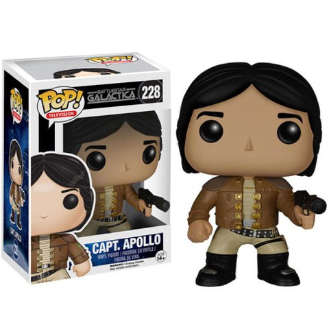 Battlestar Galactica Classic Captain Apollo Pop! Vinyl Figure