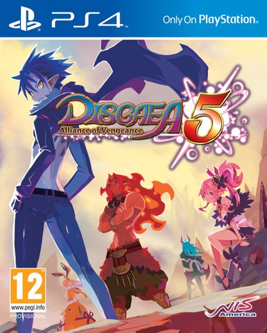 Disgaea 5: Alliance of Vengeance - Limited Launch Day Edition