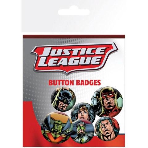 Lot de Badges Justice League