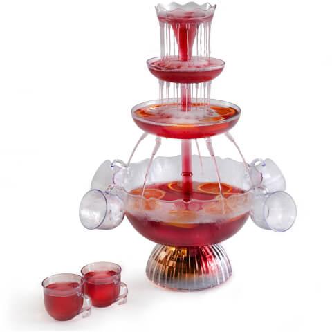 Elgento E26008 Illuminating Cocktail Fountain - Clear
