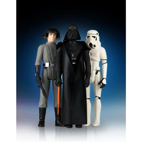 3 Figurines Jumbo Kenner Villain Star Wars