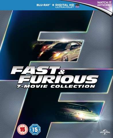 Fast & Furious 1-7 Boxset (Includes UltraViolet Copy)