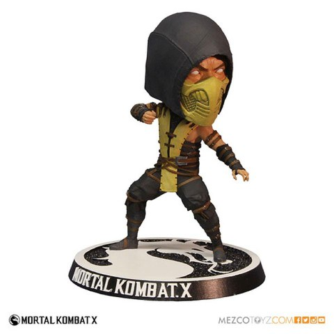 Mortal Kombat X Scorpian Bobble Head Action Figure