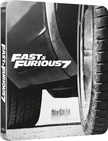 Fast & Furious 7 - Steelbook Exclusivo de Edición Limitada